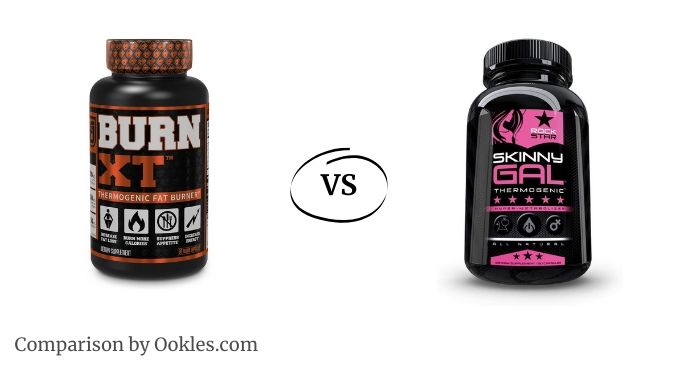 Burn XT vs Skinny Gal fat burner comparison