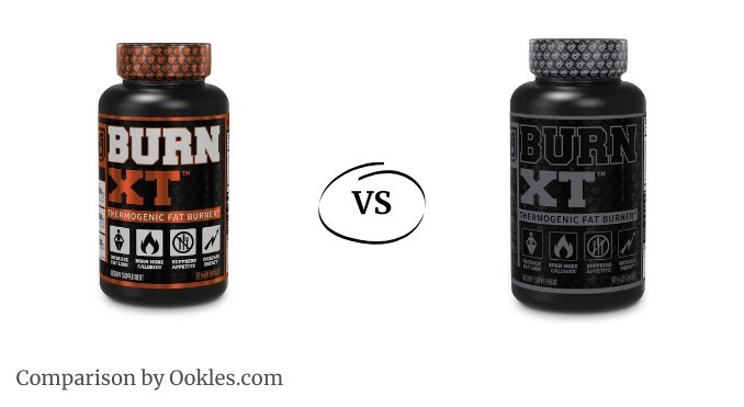 Burn XT vs Burn XT Black edition fat burner comparison