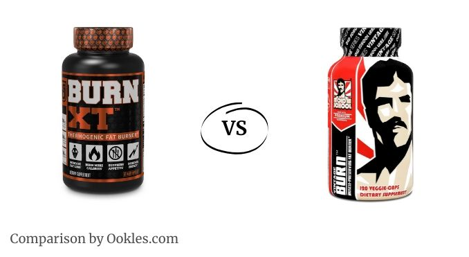 Burn XT vs Vintage Burn fat burner comparison