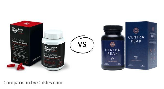 prime male vs centrapeak - which testosterone booster is better?