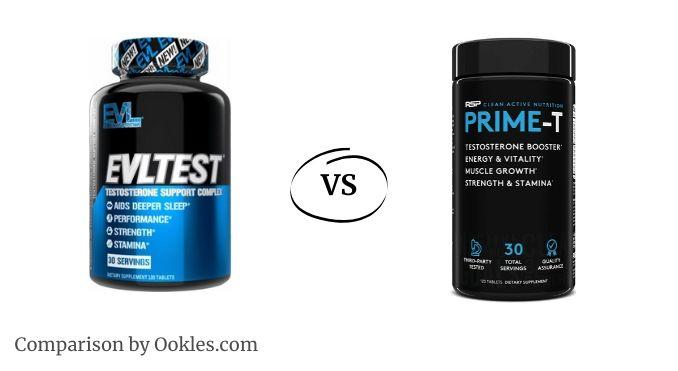 EVL Test vs Prime T testosterone booster comparison
