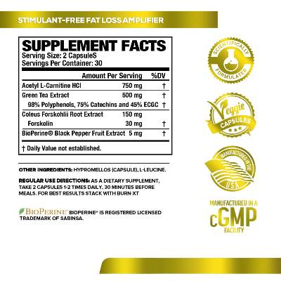 lean xt ingredients by jacked factory
