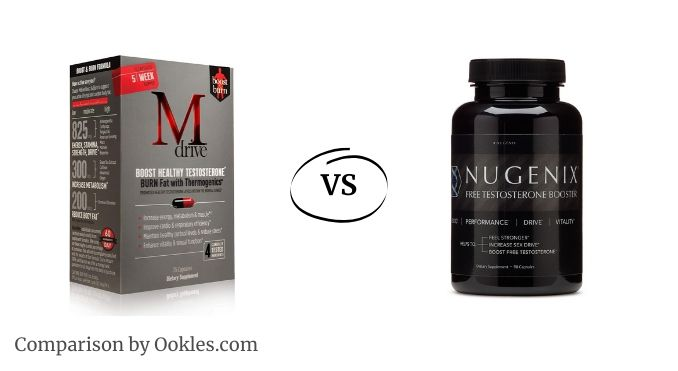 nugenix vs mdrive, MDrive vs Nugenix - which testosterone booster wins?