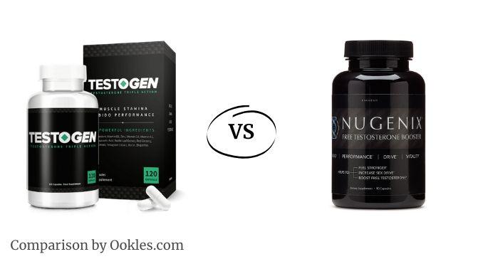 Testogen vs Nugenix comparison