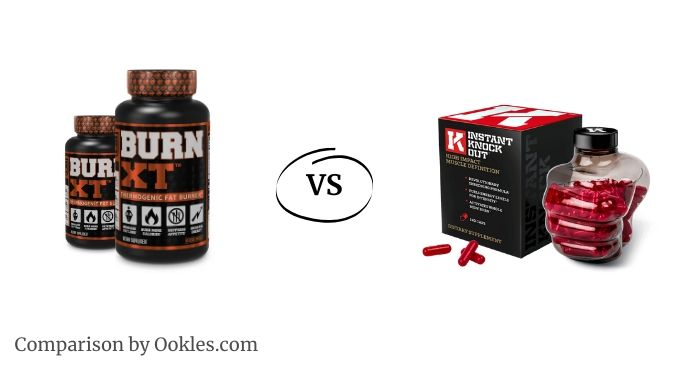 burn xt vs Instant Knockout fat burner comparison