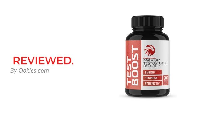 Nobi Nutrition Premium Testosterone Booster Review