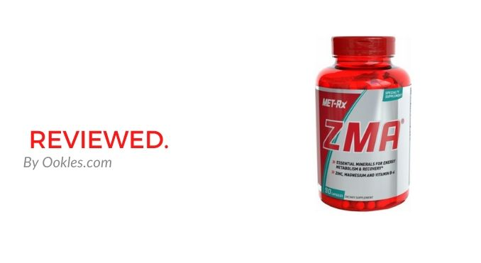 Met RX ZMA Support Supplement Review