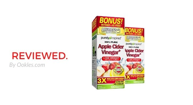 Purely Inspired Apple Cider Vinegar Review - Do These Weight Loss Pills Work?