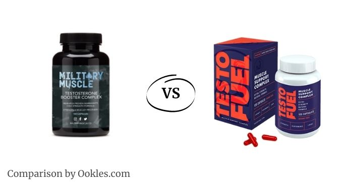 Military Muscle vs TestoFuel