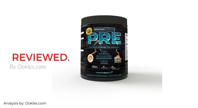 Bowmar Nutrition Pre Workout Review (New Formula) by Ookles.com