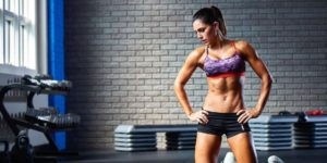 Alexia Clark - the face of the best fat burners for women