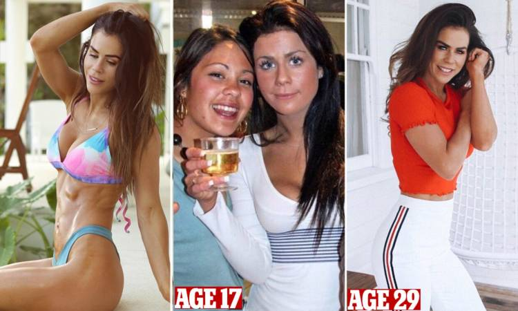 Sophie Guidolin's amazing body transformation