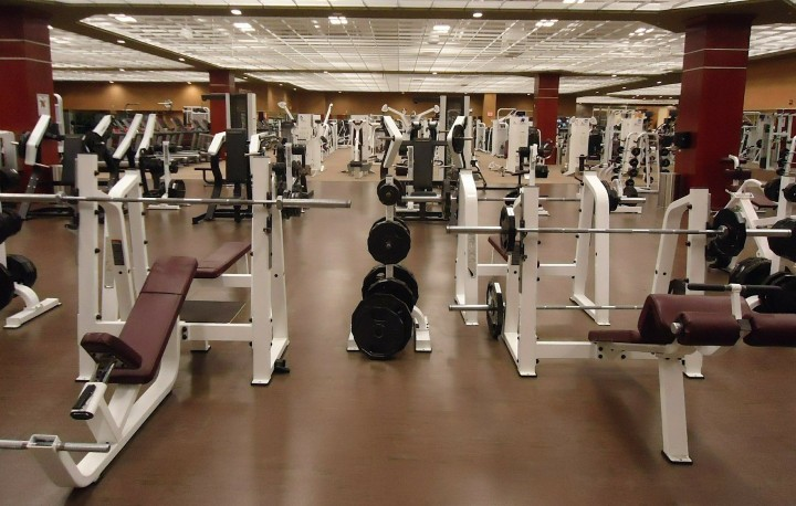 Picture of an empty gym representing the opportunity to create your own workout.
