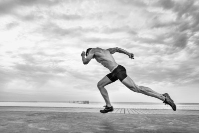 power vs strength training in a running example
