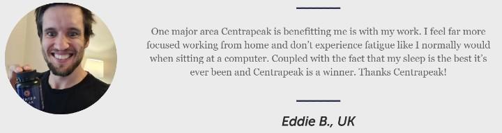 Eddie Centrapeak Testimonial