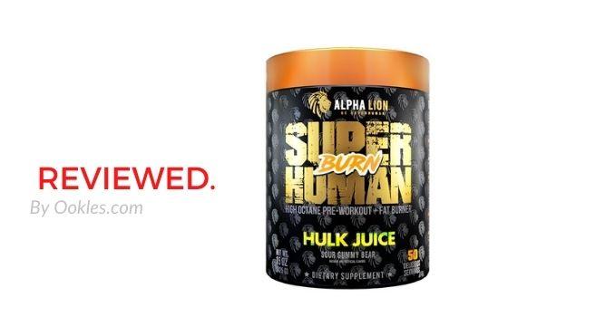 Alpha Lion SuperHuman Burn Review